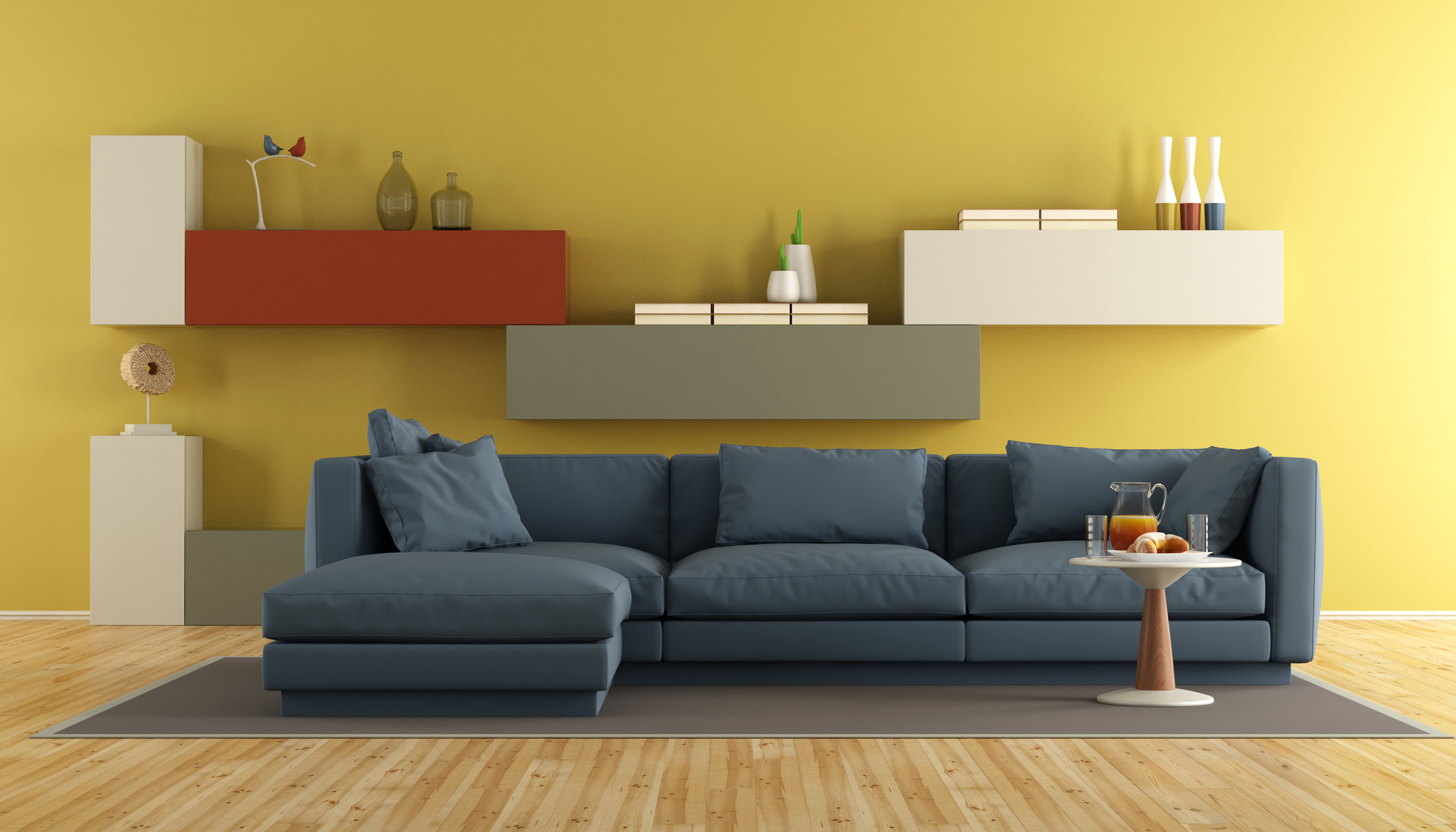 An Ideal Color for Living Room Should Blend Well
